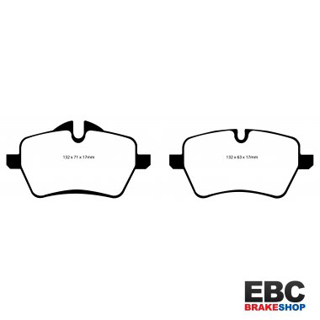 Picture of EBC DP41789R Front Brake Pads Yellow R56