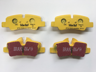 Picture of EBC DP41701R Rear Brake Pads Yellow F56